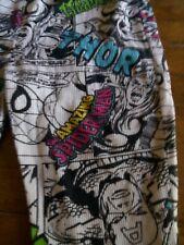 Marvel Womens Pajama pants Small Thor Spiderman Captain America Hulk Ironman