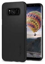 Spigen - SGP funda Thin Fit negra para Galaxy S8