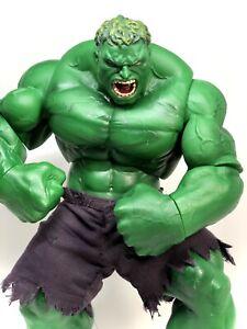 "Marvel Incredible Hulk 12"" Tall Action Figure 2003"