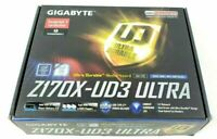 Gigabyte Z170X-UD3 ULTRA LGA 1151 Motherboard - Free shipping - Great condition