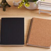Notepad Spiral Pad - Book Lined Paper Notebook Tabbed Journal Sketch Hardbound