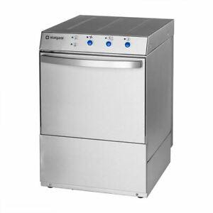 Gastro Geschirrspülmaschine mit Ablauf- Klarspülmittel- u Reinigungsdosierpumpe