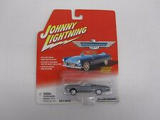 1/64th 1961 Ford Thunderbird T-Bird Convertible Gray Johnny Lightning  Diecast