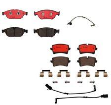 Brembo Front & Rear Kit Ceramic Brake Pad Sets w/ Sensors For Audi A6 A7 Quattro