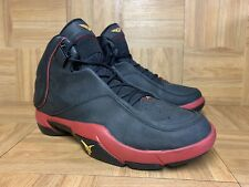 RARE🔥 Nike Air Jordan Melo M4 Bred Black Red Sz 12 Men's Shoes 317154-071 2007