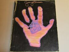 GEORGE HARRISON LIVING IN A MATERIAL WORLD Rare George Harrison Songbook Beatles