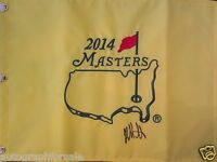 Bubba Watson signed autographed autograph 2014 Masters golf pin flag IN PERSON