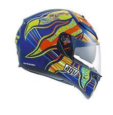 Agv helmet casque casco K3 SV Five continents Valentino rossi pinlock 2017