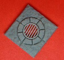3D Terrain Dungeon Drain Floor Tile 10' x 10' – Dragonlock 28mm