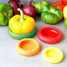 4pcs/set Flexible Silicone Fruit Vegetable Storage Cover Storage IN STOCK ILC