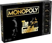 Winning Moves Monopoly The Godfather Edition Fun Family Board Game