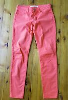 COUNTRY ROAD Coral/Orange Stretch Pants/Jeans Size 4