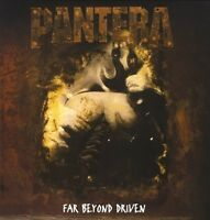 PANTERA - FAR BEYOND DRIVEN 2 VINYL LP NEU