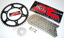 Kawasaki KX250 (2002 to 2005) JT Heavy Duty Silver Chain & JT Sprockets Kit Set