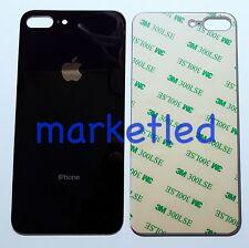 Scocca posteriore copri batteria Per iphone8plus nero in vetro alta qualità aaa