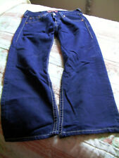 Levis Type 1 Iconic Straight Blue Jean, Used, w 30 L 26