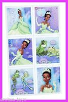 Princess and The Frog Stickers - Sealed Pack/4 Sheets - 24 stickers - Favours