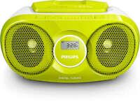 Philips Boombox Digital Tuner Fm-radio CD Player MP3 Link Stereo Lautsprecher