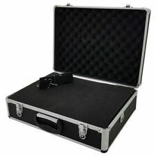 ROC Cases Aluminium Flight Case with Shoulder Strap - Black