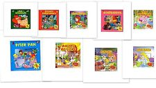 Series of Kids Puzzles Book, 2-6 years old. From Albania. You can choose.