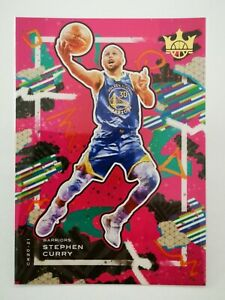 Panini Court Kings 2020-21 N31 NBA card #29 Stephen Curry Golden State Warriors