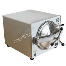 900W 18L Dental Lab autoclave Steam pressure Sterilizer sterilizing 110V/220V CE