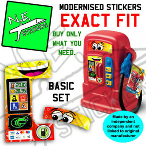 Replacement Stickers TO FIT Little Tikes Cozy Pumper Gas Pump Toy Petrol Station