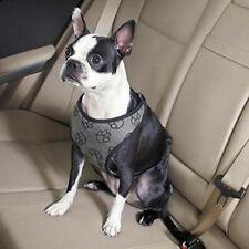 New listing Guardian Gear Paw Print Car Pet Harness, Small/Medium, Charcoal