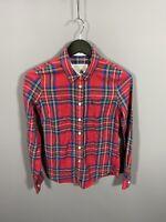 JACK WILLS Shirt - UK8 - Check - Great Condition - Women's