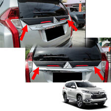 Gap Rear Middle Spoiler Black For Mitsubishi Pajero Montero Sport 2016 - 2017