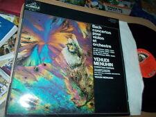 BACH: Violin concertos 1041-1043   Menuhin Ferras / EMI CVB stereo France LP VG