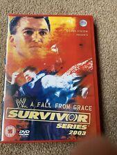 WWE - Survivor Series 2003 Wwf rare Shane v Kane Wrestling Undertaker V Vince