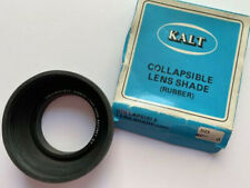 Soft Rubber Lens Shade/Hood - Collapsable - Hasselblad type Bayonet B-50