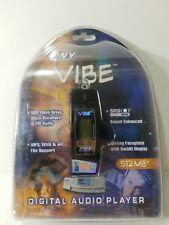 PNY Vibe Digital Audio Player MP3 WMA ASF FILE SUPPORT Voice Recorder FM radio