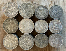 More details for 60 x silver pre-47 halfcrowns and 60 x pre-47 florins mixed grades uk & s.africa