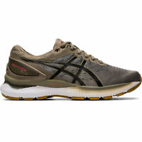 ASICS 1011A794 021 GEL NIMBUS 22 KNIT Mink Black Men's Running Shoes