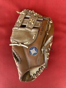 "Spalding Top Grain Leather Softball Glove 42-9311 Chrome Tanned 13"" RH Handed TR"