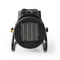 Ceramic Fan Heater Industrial Design | Thermostat | 3 Settings 2000 W | Yellow