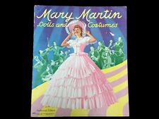 Vintage 1942 Mary Martin Movie Star Cut Out Doll Paper Dolls Uncut