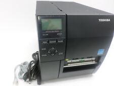 Toshiba B-EX4 LAN USB 203dpi Direct Thermal Label Printer B-EX4D2-GS12-QS-QM-R