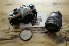 Pentax MEF 35mm Film Camera with SMC Pentax-A 35-70mm f2.8 Zoom Lens