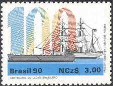 Brazil 1990 Ships/Boats/Sailing/Commerce/Business/Transport/Nautical 1v (n26579)