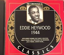 RARE & OOP! Eddie Heywood: The Chronological Classics, 1944 CD Mint condition!