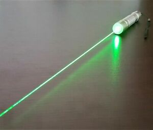 Professional Green Laser Pointer Pen 1mW Focusable Beam 532nm Wicked Best Lazer
