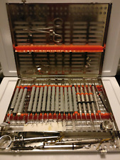 Hu Friedy Dental Restorative Cassette with Instruments