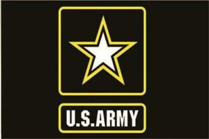 United States Army 3' x 5' Flag Military Banner US Star Active Duty Veteran A-6