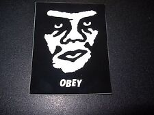 """SHEPARD FAIREY Obey Giant Sticker 2.75X2.25"""" ANDRE OG FACE from poster print"""