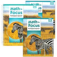 Math In Focus Singapore Approach Grade 5 Kit 1st Semest