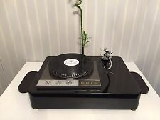 "Garrard 401 single tonearm versione 9"" 10"" 12"" Piano Black plinth Zarge"