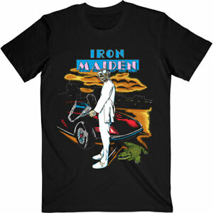 IRON MAIDEN - Vice Is Nice Florida '87 Tour T-Shirt Größe XL